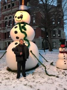 Adam and Snowman